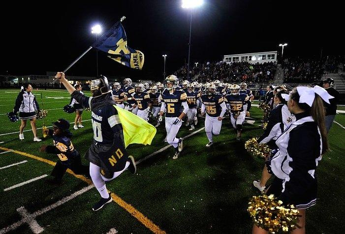 notre dame live score what are the teams in the playoffs
