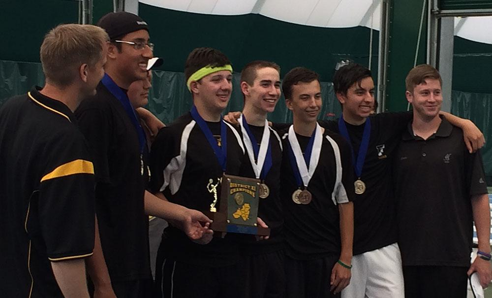 Freedom boys tennis team wins district title by beating ...