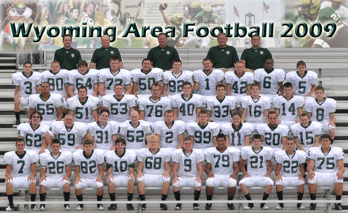 Football Wyoming Area