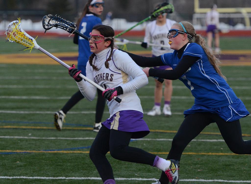 CBA girls lacrosse dominates rival J-D in season opener ...