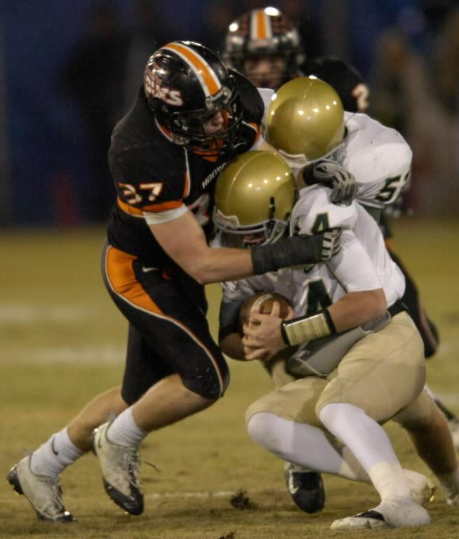 Hoover High School head football coach Josh Niblett sees junior linebacker