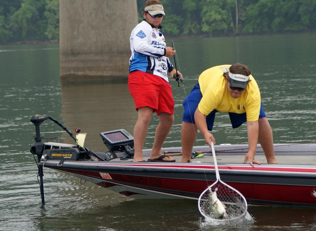 High school bass fishing tournament returns to pickwick for Pickwick lake fishing report