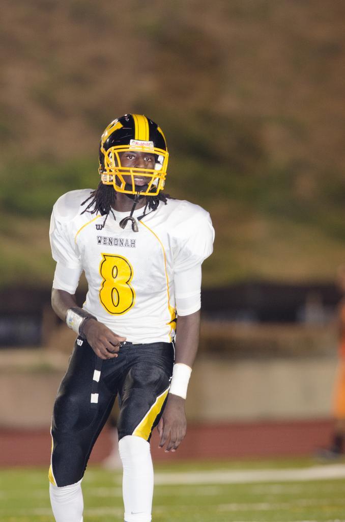 Wenonah's 6-foot-6 De'Runnya Wilson picks up his first SEC football offer
