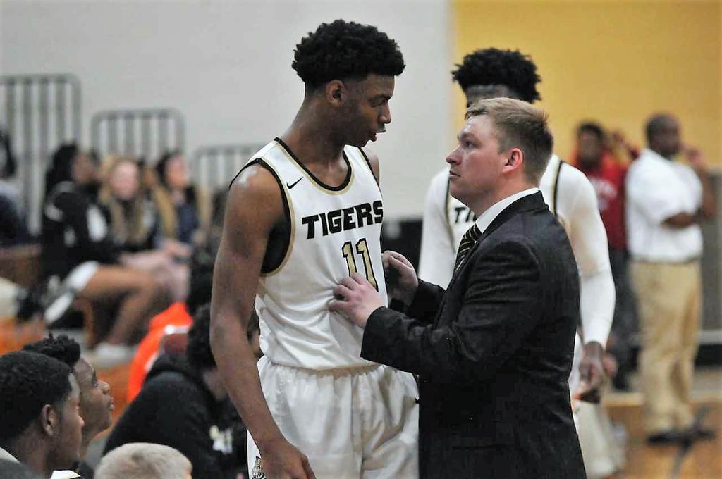 Basketball coach