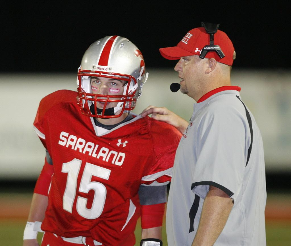 Saraland High School: Return Of QB Jay Ward Has Saraland Coach Jeff Kelly
