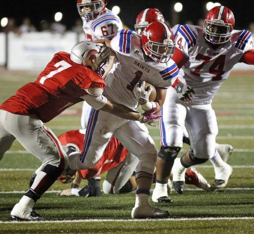 Saraland Spartans Football: Football: Saraland Outlasts St. Paul's 20-14 In 2 OT In