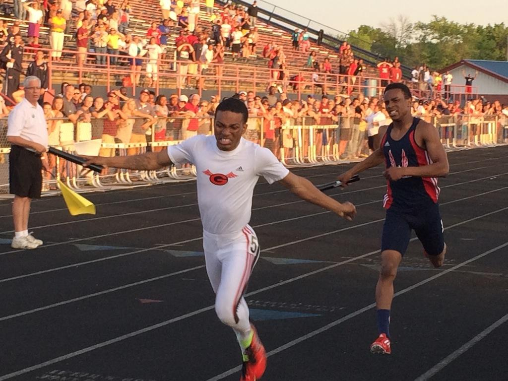 austintown fitch district track meet ohio