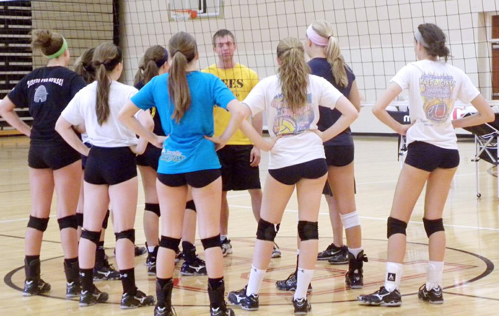 The Brecksville-Broadview Heights High School varsity volleyball team is ...