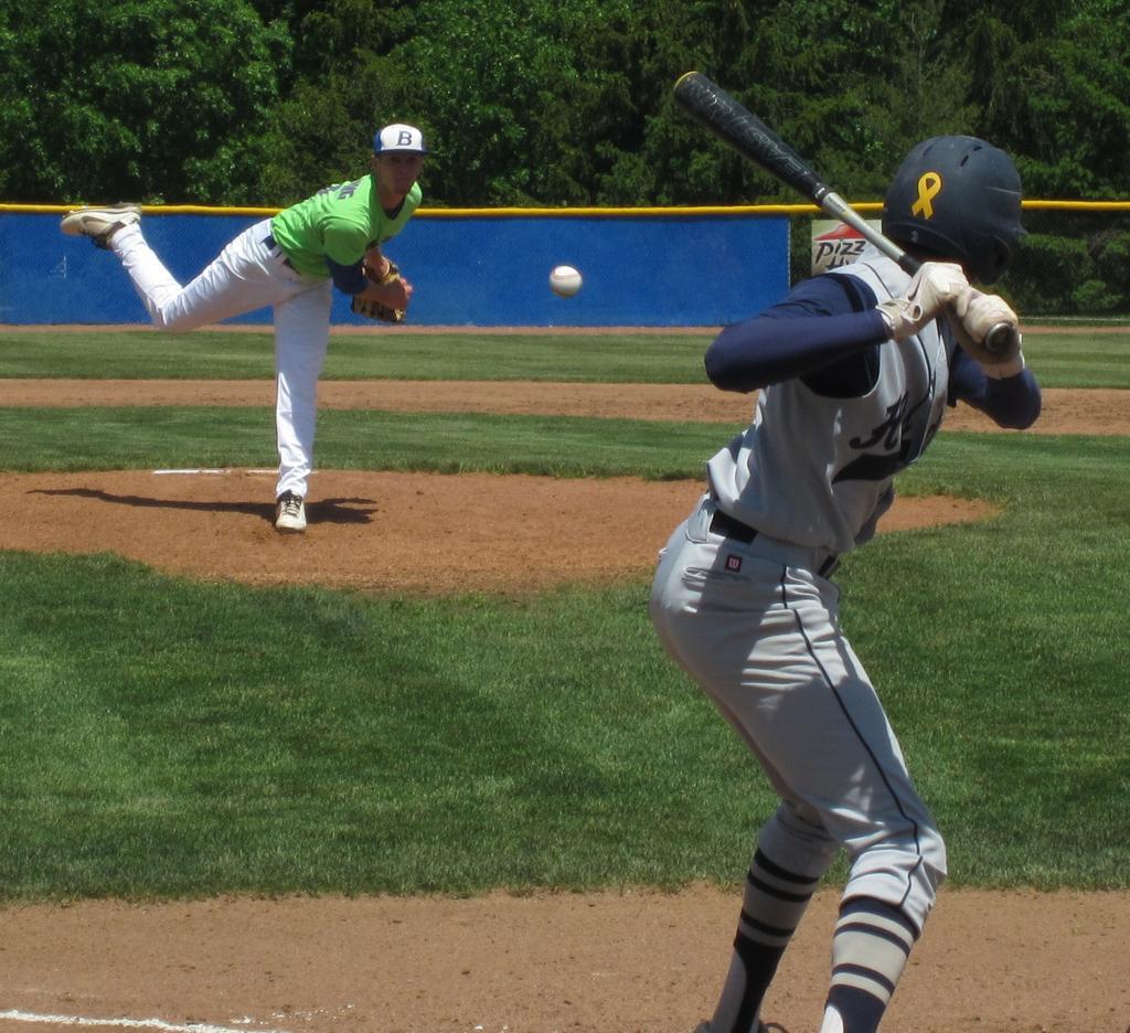 Baseball: Brunswick Beat Hudson In District Final, Kyle