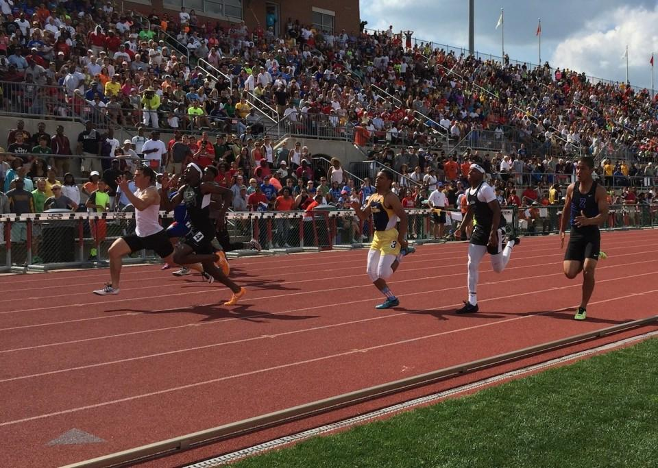 ohsaa state track meet records retention