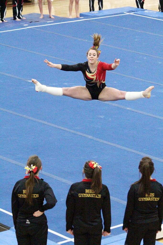 Brecksville Broadview Heights Gymnastics Team Looks To