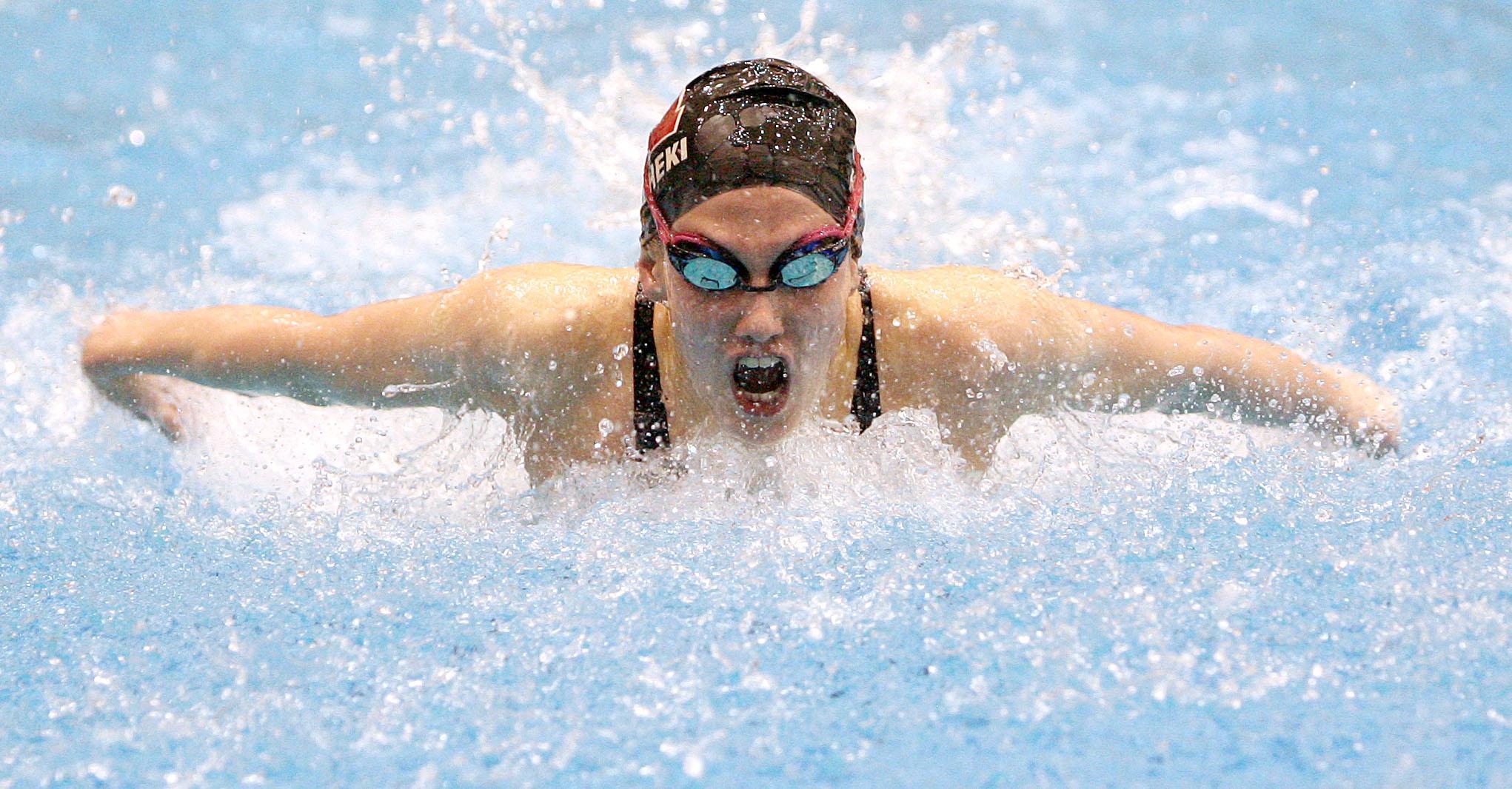 Plain dealer high school girls swimming preview for Cleveland high school swimming pool