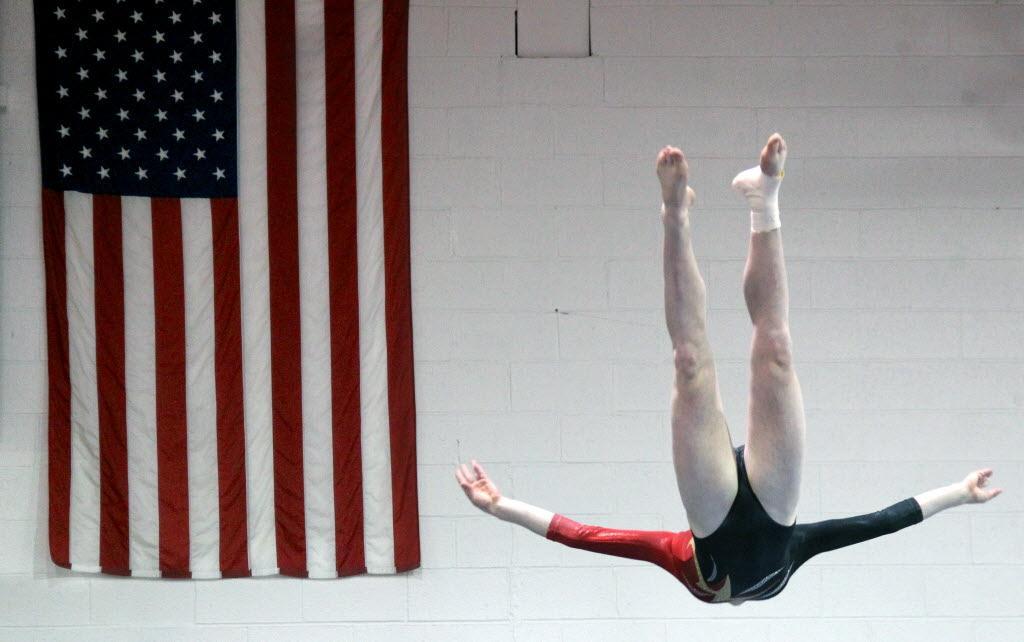 brecksville gymnastics meet