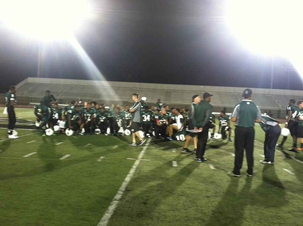 Inside No. 7 Bedford football's 48-14 win over No. 21 ...