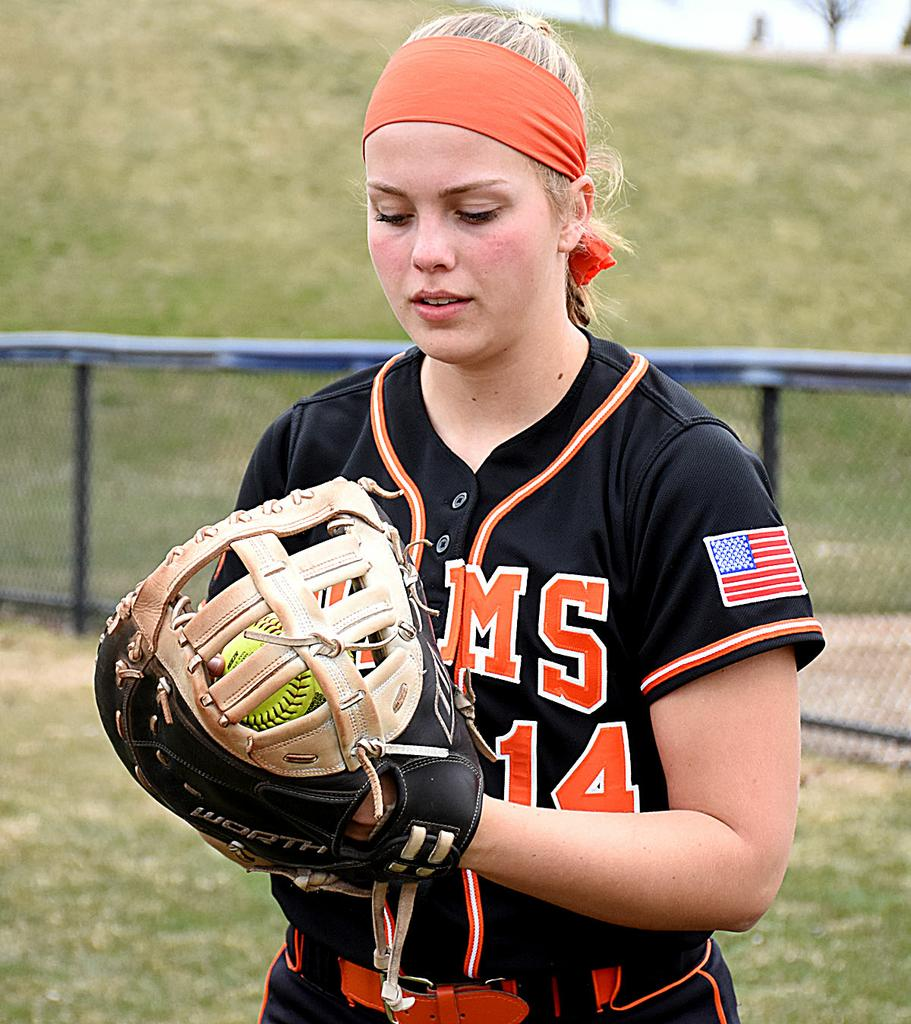 Katie Lawton providing timely hitting, run-saving defense as Rockford's first baseman