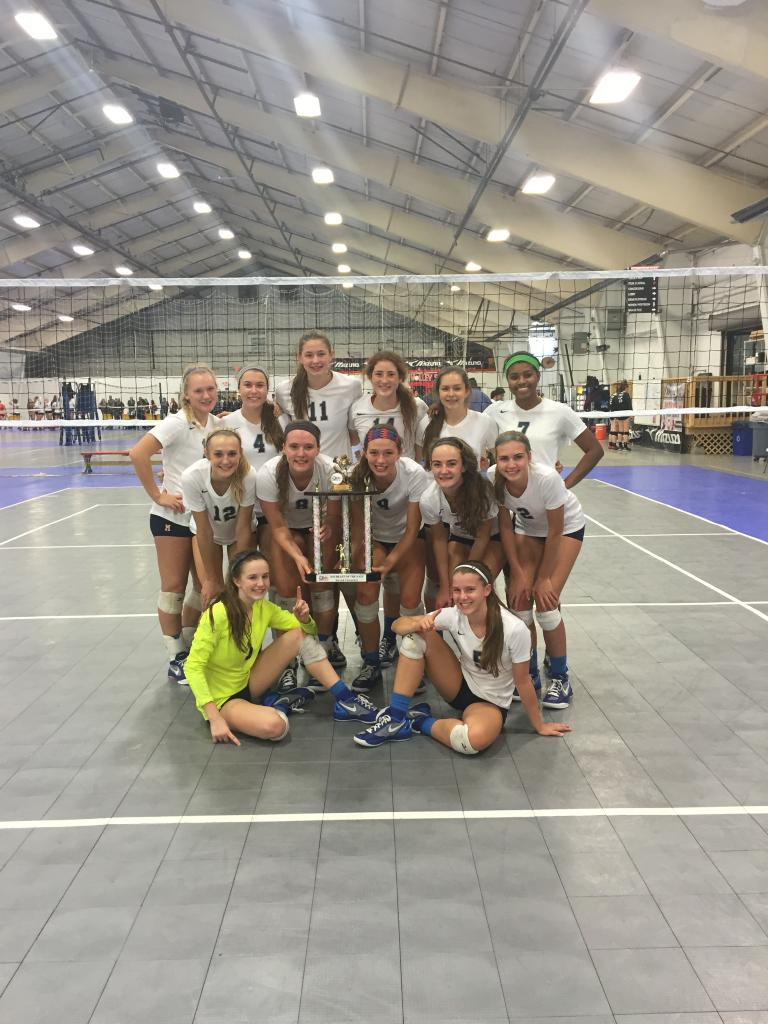 Wildcats with their Silver Bracket Trophy