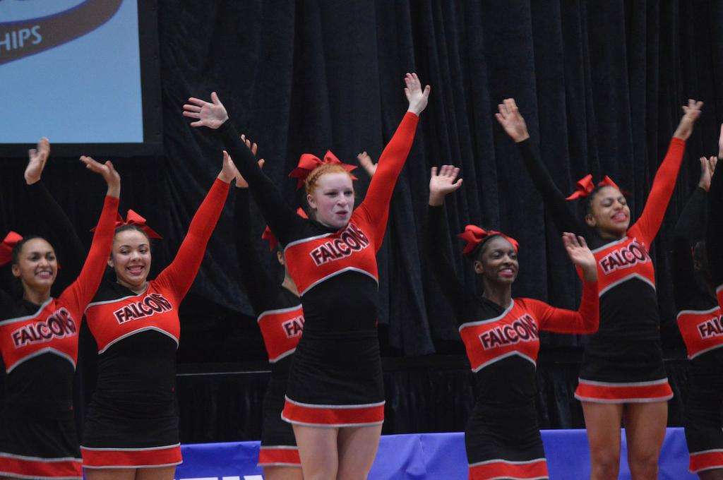 Advance OK Conference Competitive Cheer Rankings