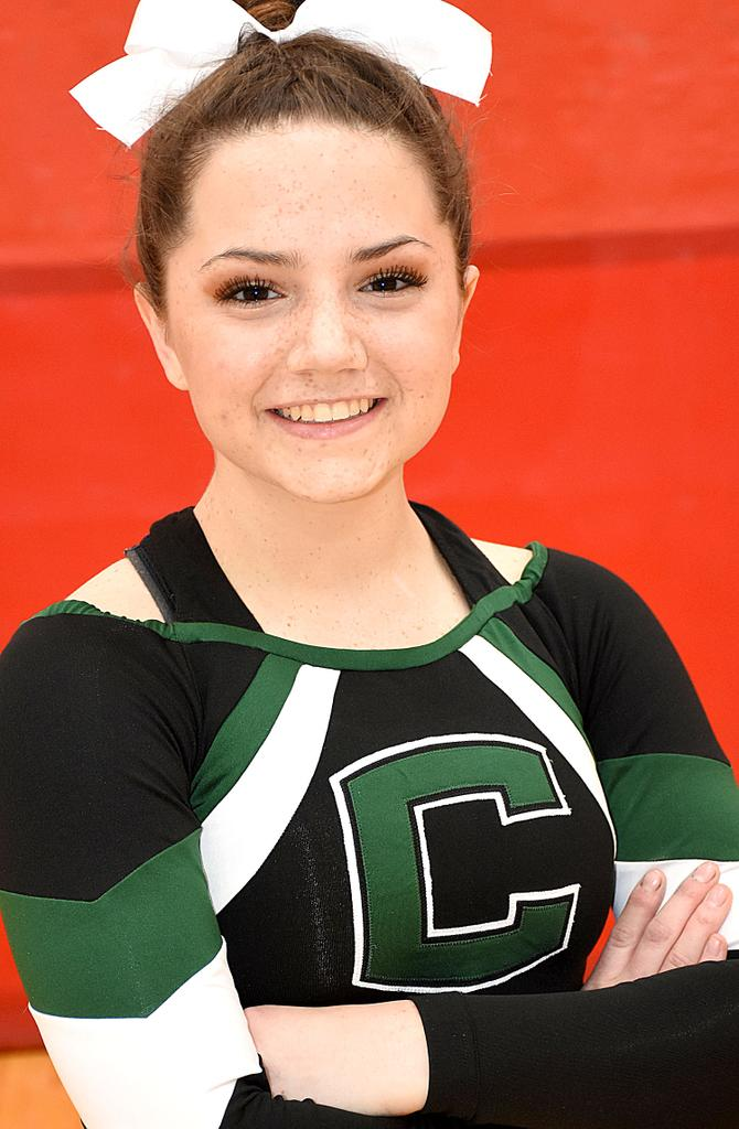 Coopersville captain Olivia Umlor an outstanding student and team motivator