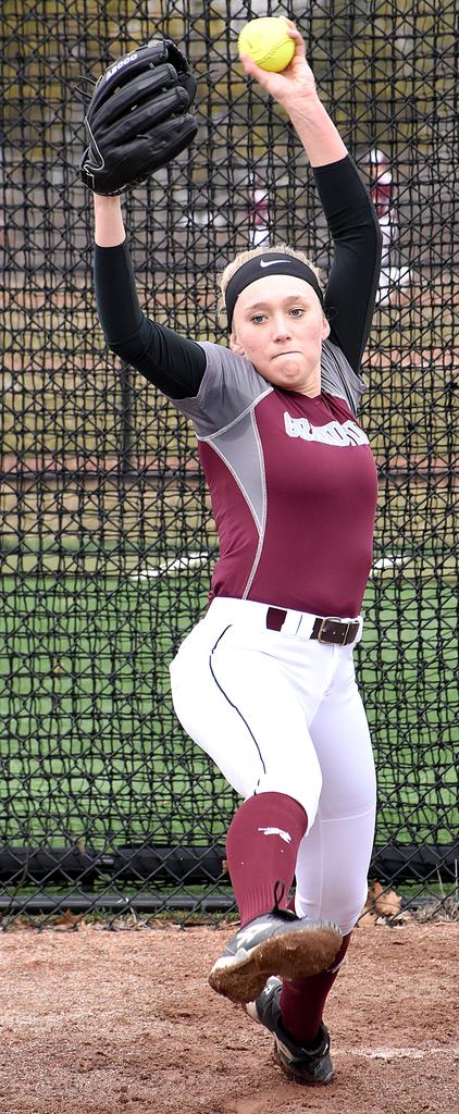 Kaitlyn Orme adapts to new roles in leading young Grandville softball squad