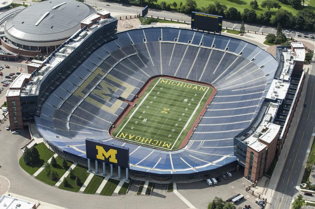 Quot Battle At The Big House Quot To Include Mona Shores Vs