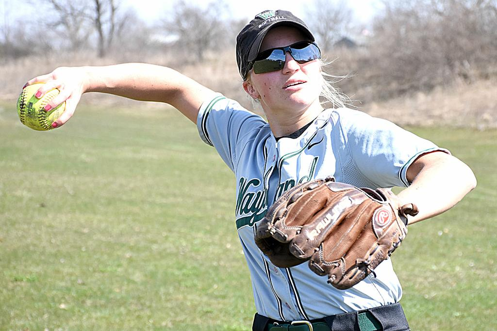 Chanlyn Commons providing much positive energy for Wayland softball squad