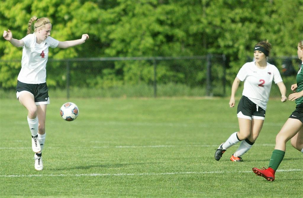 Strong play on defense a constant for Allendale girls soccer team this season
