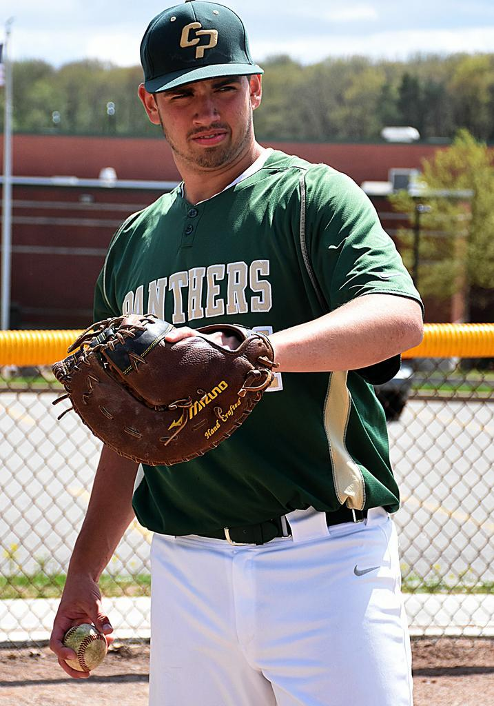 Nate Hughes exhibits leadership, passion for baseball at Comstock Park