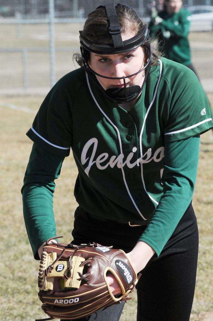 Seven-member sophomore class contributing to Jenison softball's strong spring