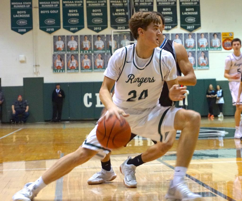 Sophomore Jimmy Scholler adds new dimension to Forest ...