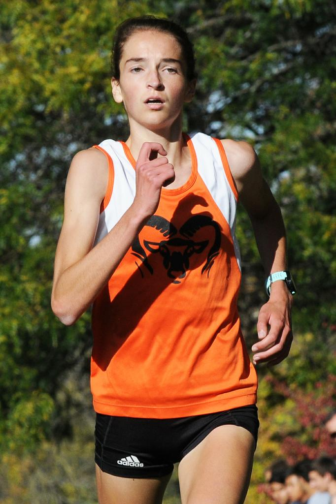 Rockford girls score points in every event en route to regional track title