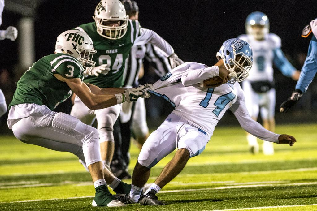Muskegon To Traverse City Central Football