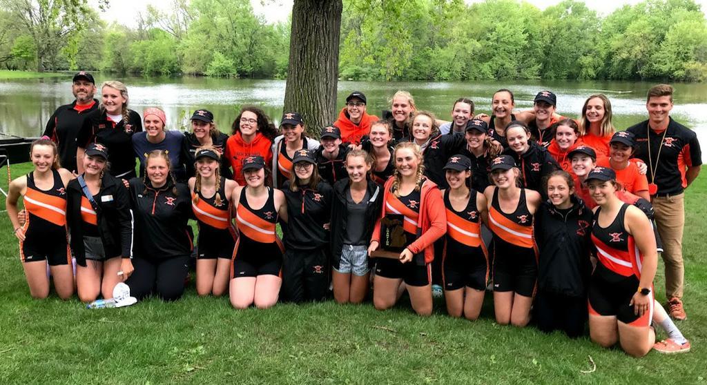 Rockford women's crew team captures state championship