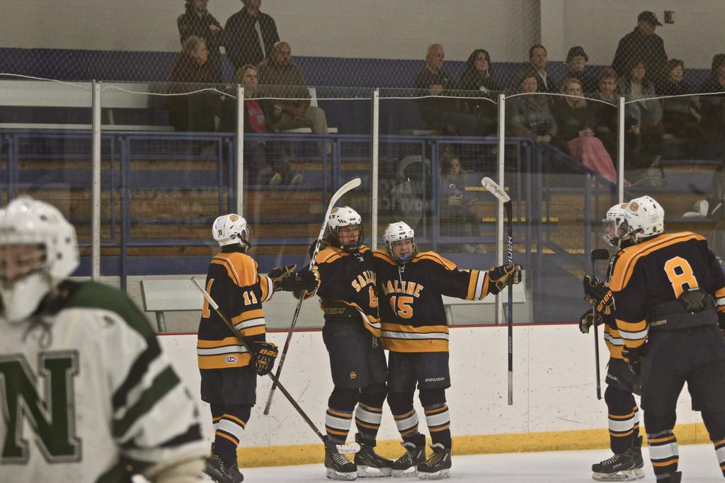 MI H.S.: Saline Hockey Wins Opener