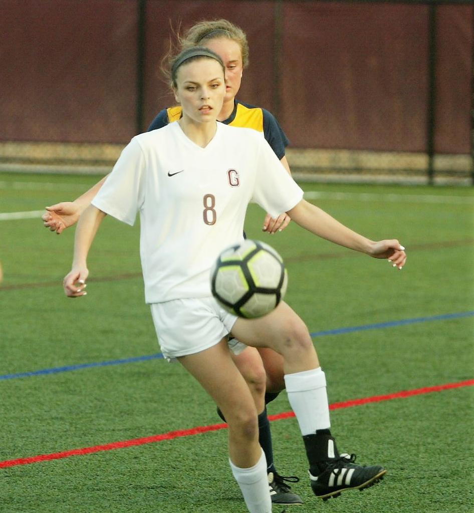 Grandville girls soccer team featuring a new look this season