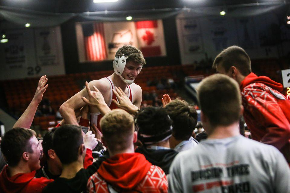 Whitehall wrestlers earn shot against top-ranked Dundee in state semifinals