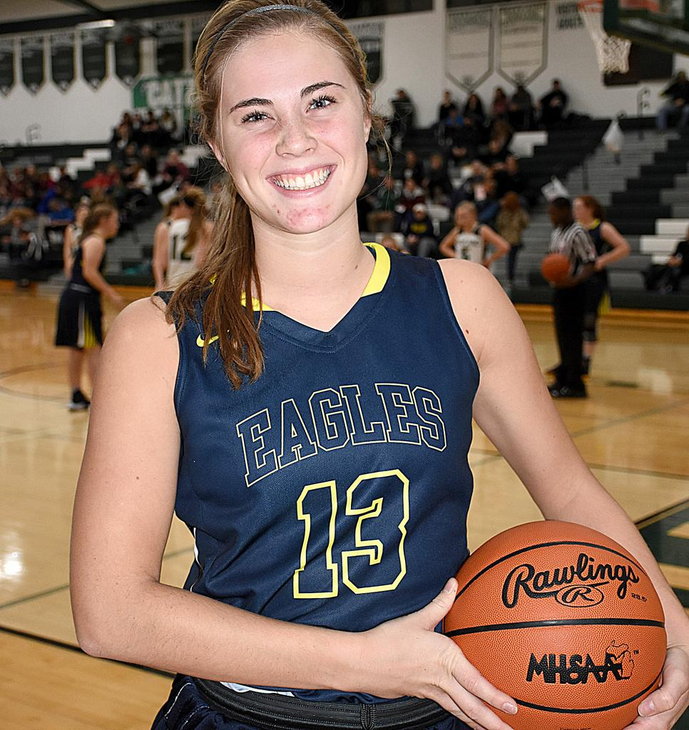 Seniors extend district championship legacy of Hudsonville girls basketball