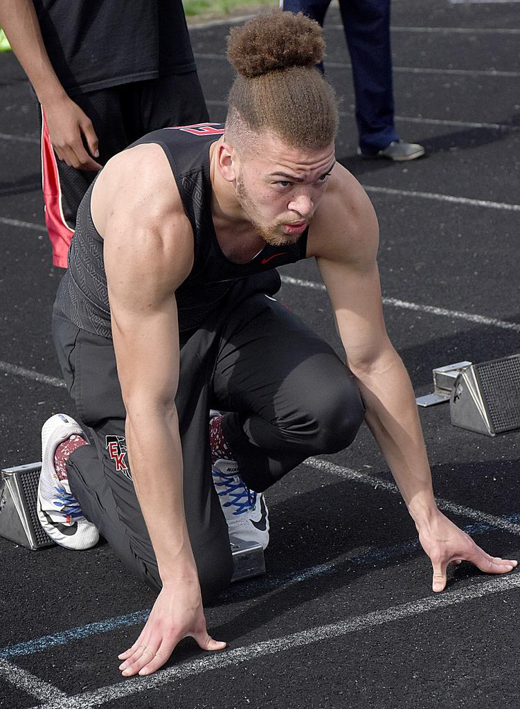 East Kentwood boys track team claims Division 1 regional championship