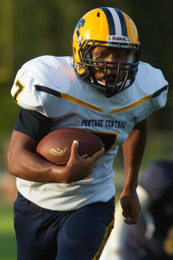 Portage Central Clinches Fifth Consecutive Playoff Berth With 56 27