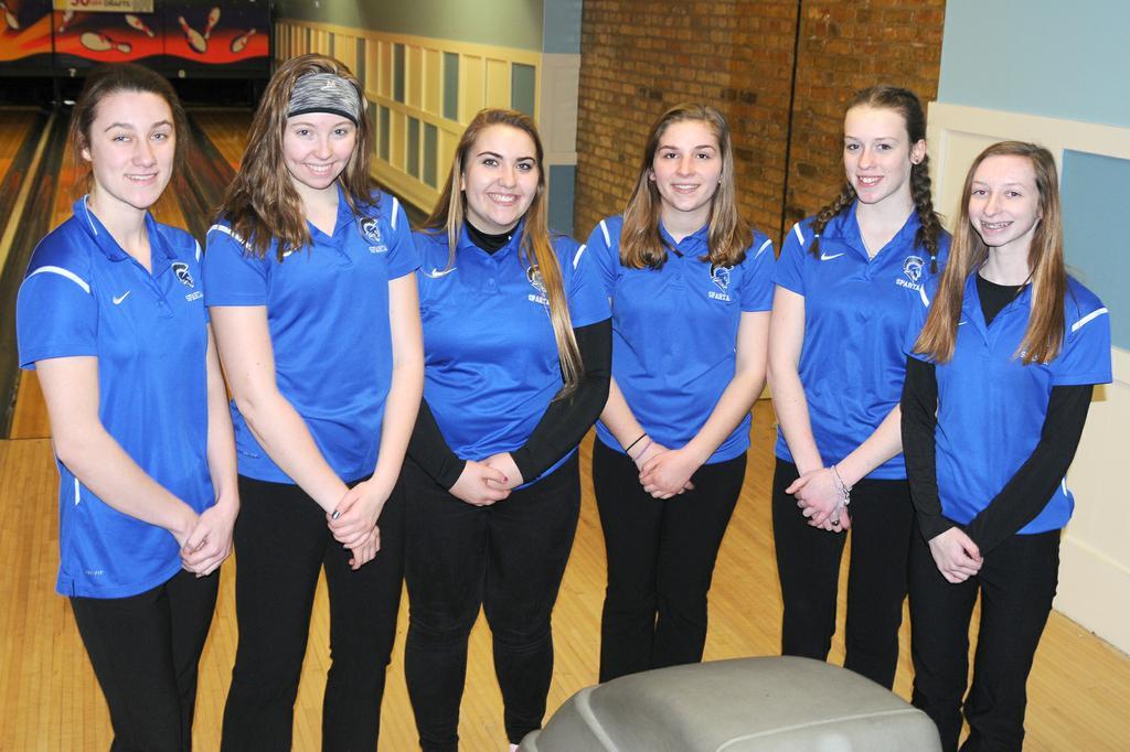Sparta girls bowling team claims OK Blue postseason tourney title