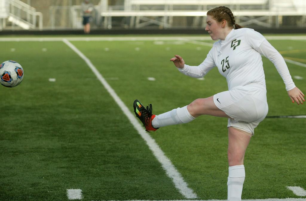 Pella Christian Girls Soccer Team Proves it Can Play With Anyone