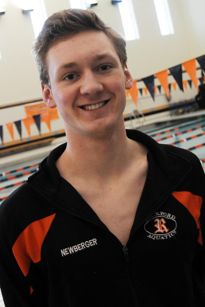 Rockford boys swim team finishes 15th in Division 1 state meet