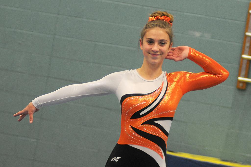 Rockford sophomores Morgan Case, Ashley Faulkner win gymnastics state titles