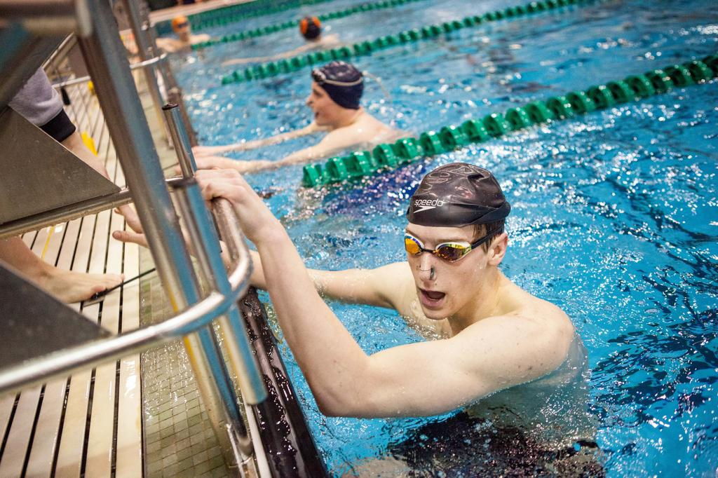Advance OK Conference Boys Swimming & Diving Rankings