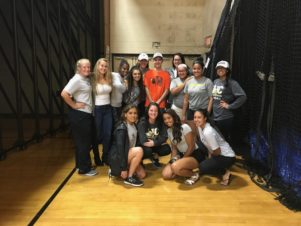 AIC volleyball, softball teams hold fundraiser for Agawam ...