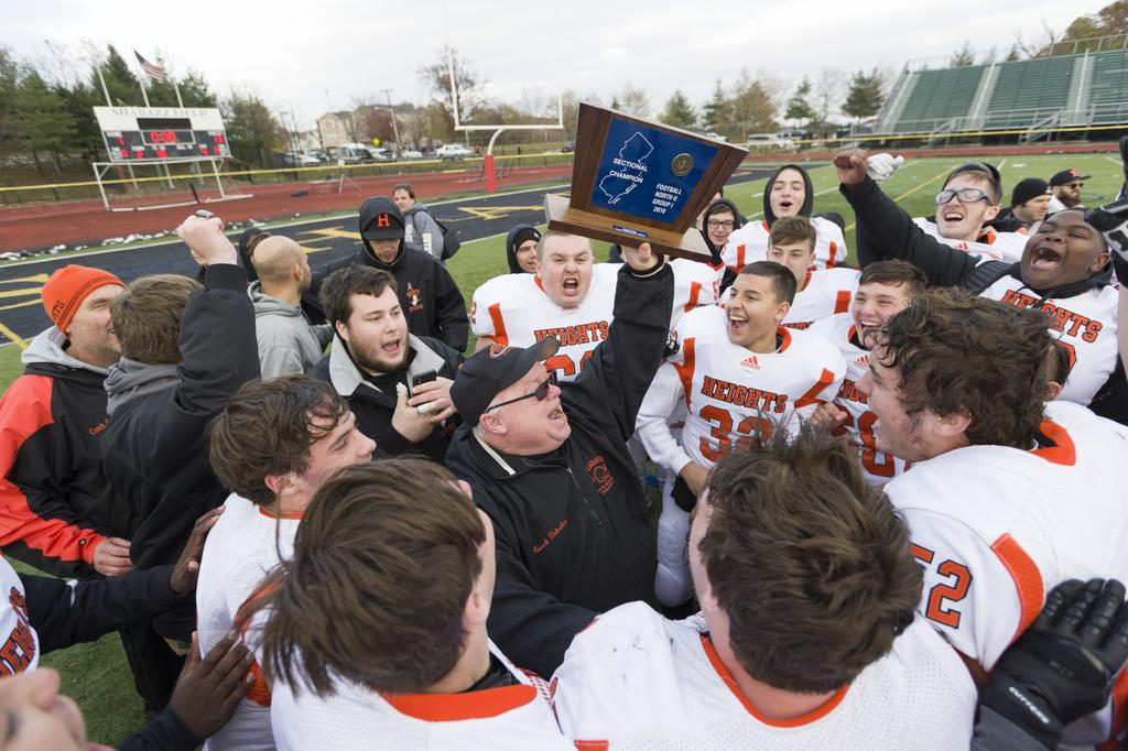 Out of the shadows, Nick Delcalzo leads Hasbrouck Heights to the top -- again