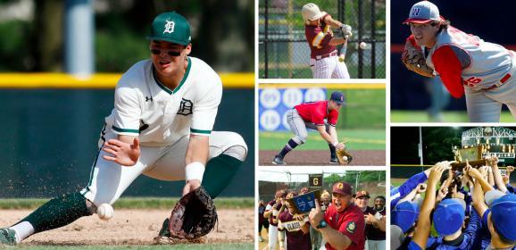 Check out all of the 2019 NJ.com baseball postseason award winners. (NJ Advance Media file photos)