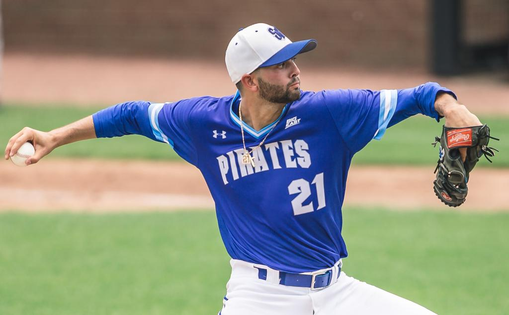 MLB Draft: Seton Hall University's Layne Jr. taken by Rangers in 11th round