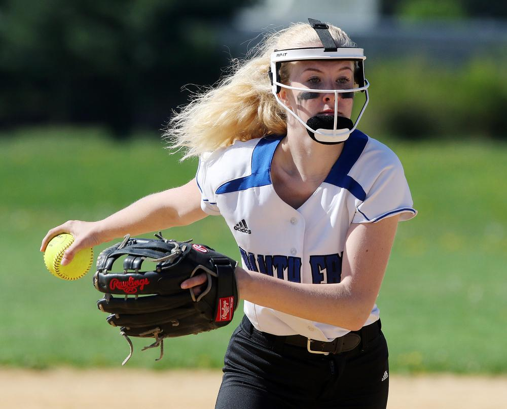 adbd5446947 Westampton Tech's Brooke Hampton is one of the BCSL Players of the Week.  (David Gard | For NJ Advance Media)