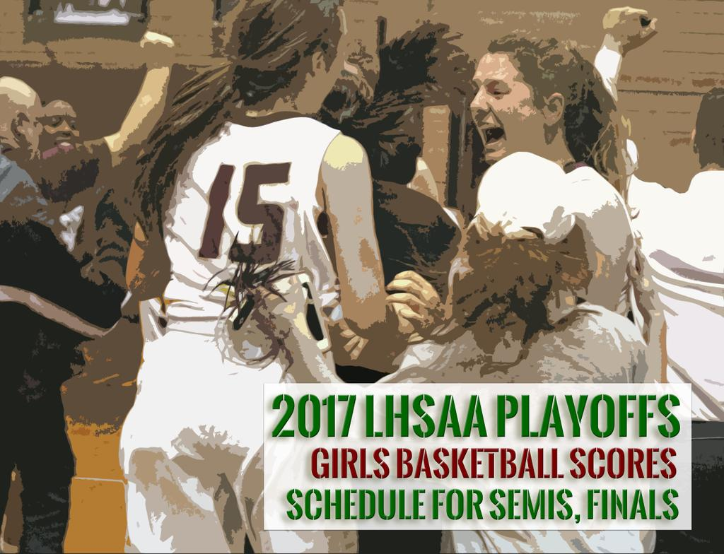 2017 18 Uk Basketball Schedule Now Complete: LHSAA 2017 Girls Basketball Tournament: Full Scores And