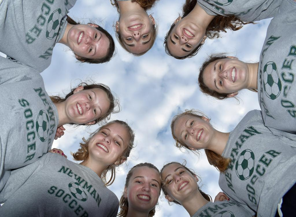 Sisterly Squad: Five pairs of siblings power Newman's girls soccer success